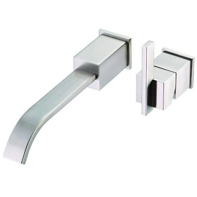Danze D216144T Wall Mounted Bathroom Faucet Trim From the Sirius Collection (Less Valve)