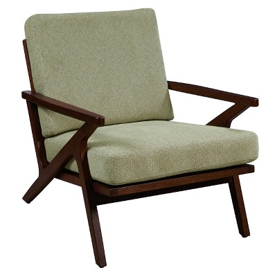 Sterling  Wood Accent Arm Chair - Pulaski