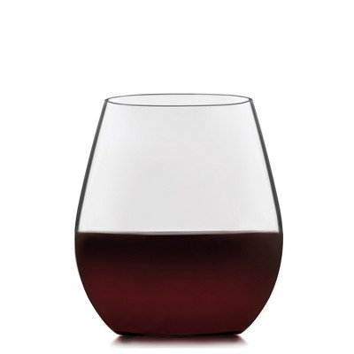 Libbey Signature Kentfield Stemless Red Wine Glasses 19oz - Set of 4