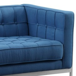 Andre Sofa How To Remove Water Stain From Leather Armen Living Contemporary Blue Target