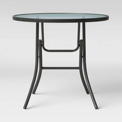 32 patio bistro table clear room essentials