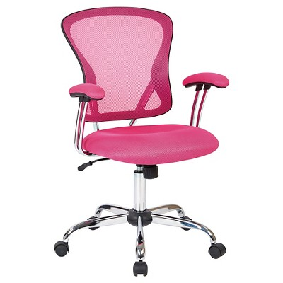 ave six chair z line executive with contour seat and lumbar support juliana task pink mesh office star target