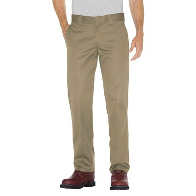 Dickies Men's Slim Straight Fit Twill Pants