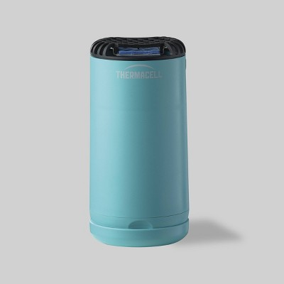 patio shield mini mosquito repeller glacial blue thermacell