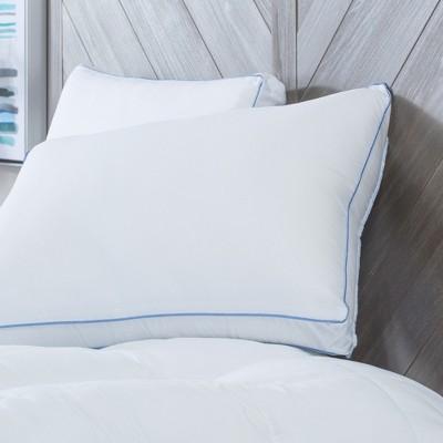 sensorpedic memoryloft deluxe gusseted pillow with memory foam core