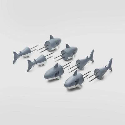 6pk stainless steel shark