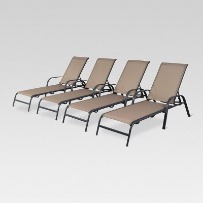 patio lounge chairs target coleman deck chair 4pk stack sling threshold
