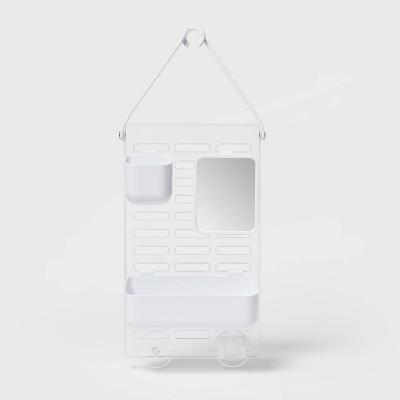 adjustable shower caddy white room essentials