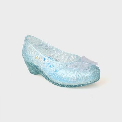 Toddler Girls' Disney Princess Ballet Jelly Shoes - Blue