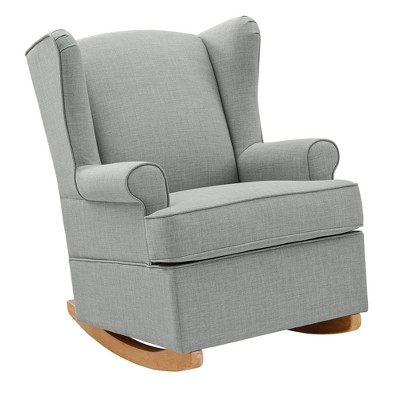 baby sleeper chair office that leans back relax brennan wingback convertible rocker target