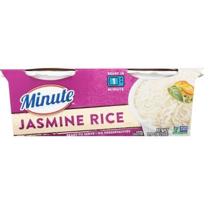 minute microwaveable jasmine rice 8 8oz 2ct
