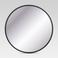 Decorative Circular Large Wall Mirror - Black - Project 62 ...