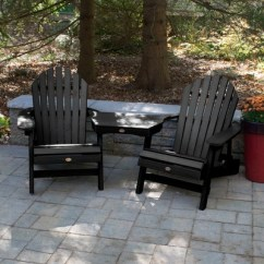 Tete A Chair Outdoor Rocker Gaming Argos Hamilton Folding Reclining Adirondack 2pk With Table Highwood Target