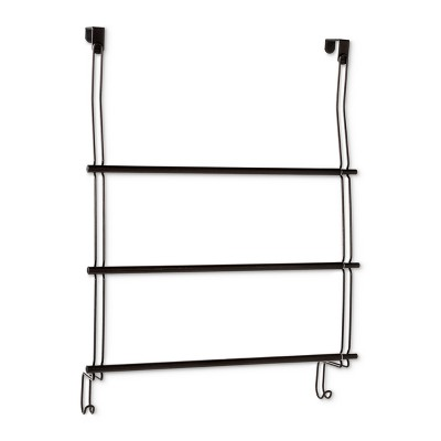 Expandable Over-The-Door Towel Rack Over-The-Door Hook Bronze - Threshold™