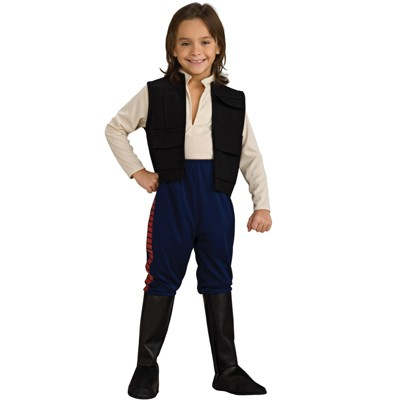 Star Wars Boys' Deluxe Han Solo Halloween Costume - Rubie's