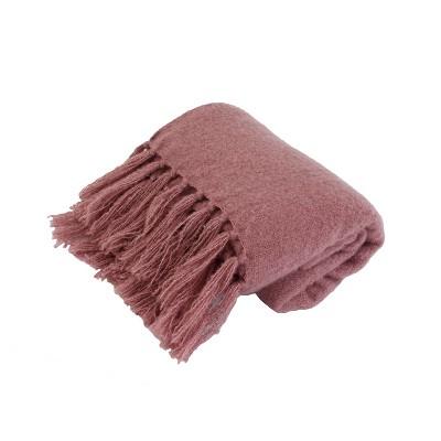 Mack Knit Mohair Throw Pillow - Decor Therapy