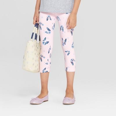 Girls' Capri Leggings - Cat & Jack™ Pink