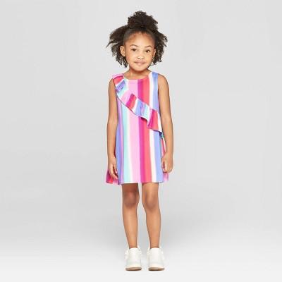 Genuine Kids® from OshKosh Toddler Girls' Air Brush Striped Dress