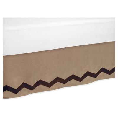 Brown Bed Skirt - Sweet Jojo Designs®