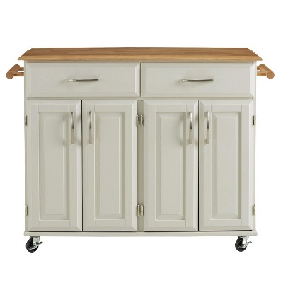 home styles kitchen cart islands with granite top dolly madison white style target