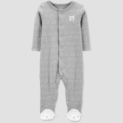 Baby Sheep Sleep 'N Play One Piece Pajama - Just One You® made by carter's Gray