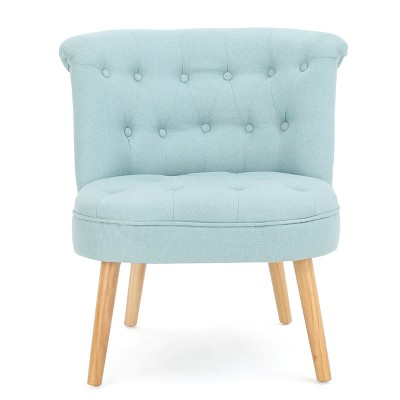 dark teal accent chair zebra print chairs for sale cicely tufted christopher knight home a green circle with white checkmark in the center