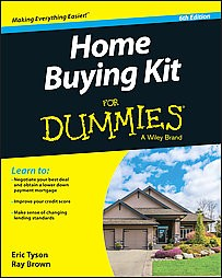 Home Buying Kit For Dummies Paperback Eric Tyson & Ray Brown
