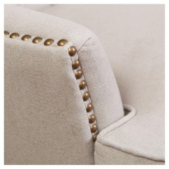 Tafton Club Chair Pictures Of Chairs For Living Room Tufted Fabric Natural Christopher Knight Home Target