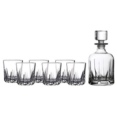 Royal Doulton® Mode 5pc Whiskey Decanter and Glasses Set