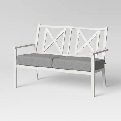 metal loveseat patio furniture target