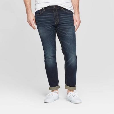 Men's Tall Skinny Fit Jeans - Goodfellow & Co™ Dark Gray