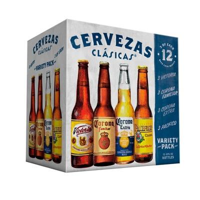 corona cerveza clasicas 12pk