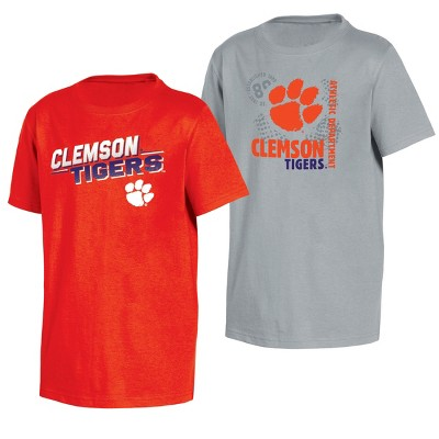 Clemson Tigers Double Trouble Toddler Short Sleeve 2pk T-Shirts