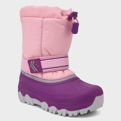 Girls' Pita Toggle Top Winter Boots - Cat & Jack™
