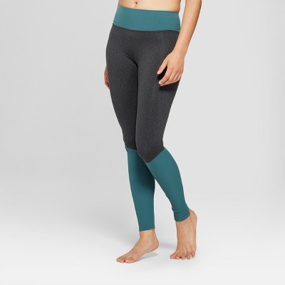 "Women's Comfort Yoga Ribbed Mid-Rise Leggings 31"" - JoyLab™"