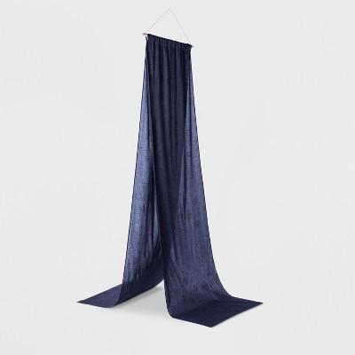 Constellation Glow Bed Tent Black - Pillowfort™