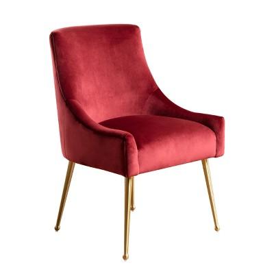 burgundy dining chairs stressless reviews uk beverly velvet chair abbyson living target