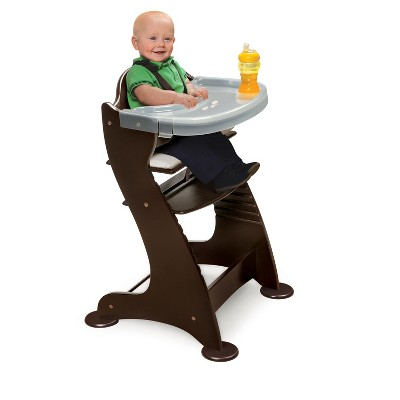 high chair converts to table and zebra print chairs badger basket embassy wood target