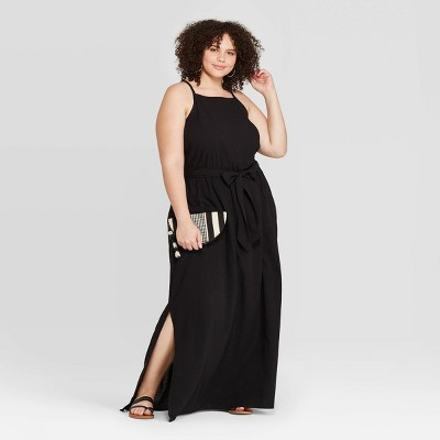 Women's Plus Size Sleeveless Square Neck Maxi Dress - Universal Thread™