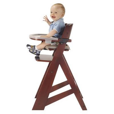 keekaroo high chair markwort patented stadium with tray mahogany target height right