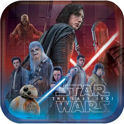 Star Wars Episode VIII 9oz Dinner Plates