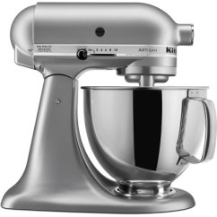 Kitchen Aid 5 Qt Mixer Copper Sinks Kitchenaid Artisan Series 5qt Tilt Head Stand Silver Ksm150