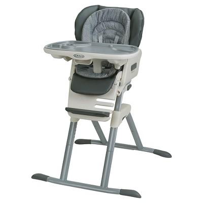 seat high chair wrought iron lounge graco swivi solar target