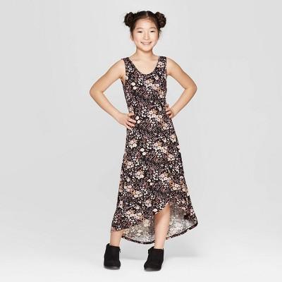 Girls' Tulip Hem Maxi Dress - art class™