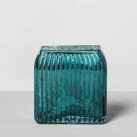 Glass Toothbrush Holder Teal Blue - Opalhouse : Target