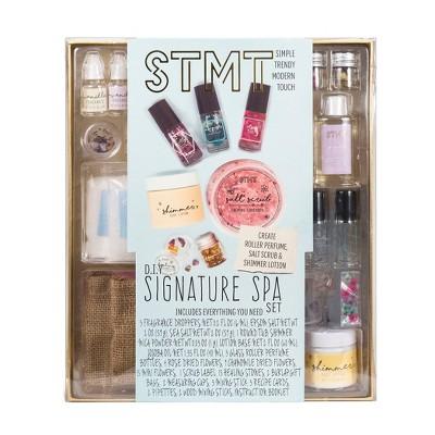 STMT DIY Signature Spa Perfume & Salt Scrub Set
