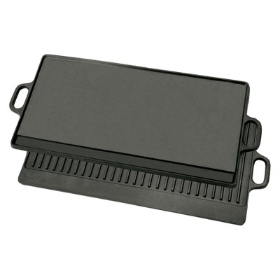 Bayou Classic Cast Iron 28in Reversible Griddle