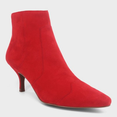 Women's Delilah Heeled Ankle Fashion Boots - Who What Wear™