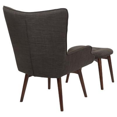 ave six chair hardwood folding chairs 2pc dalton ottoman target