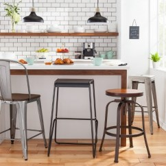 Industrial Kitchen Stools Pop Up Outlet Modern Bar Stool Collection Target
